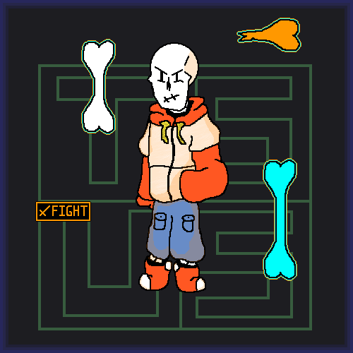 TEAM SWITCHED UNDERSWAP: Papyrus!