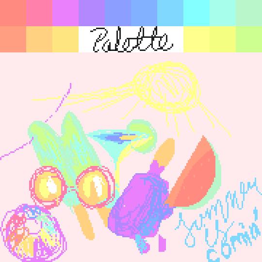 Pastel Palette Challenge | Summer is Comin'!