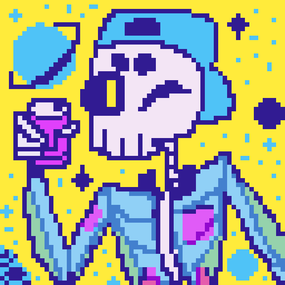 sodas, skeletons, and stars