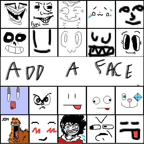 Draw a face!