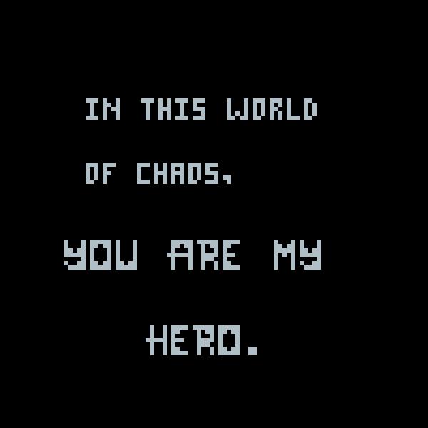 あなたは私のヒーローです