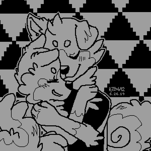 Two color hugs