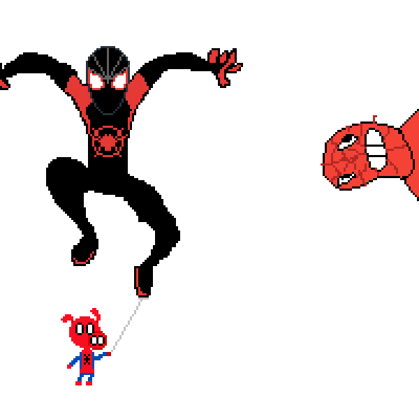 Unfinished Spider-Verse Collab