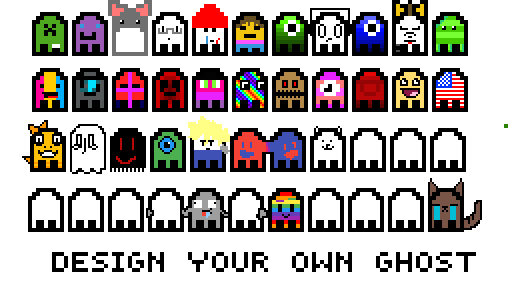 collab- design your own ghost