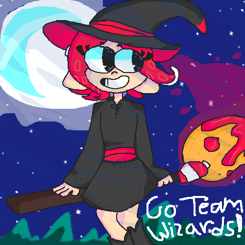 Lets Ink-Chant The Splatfest,Team Wizards!