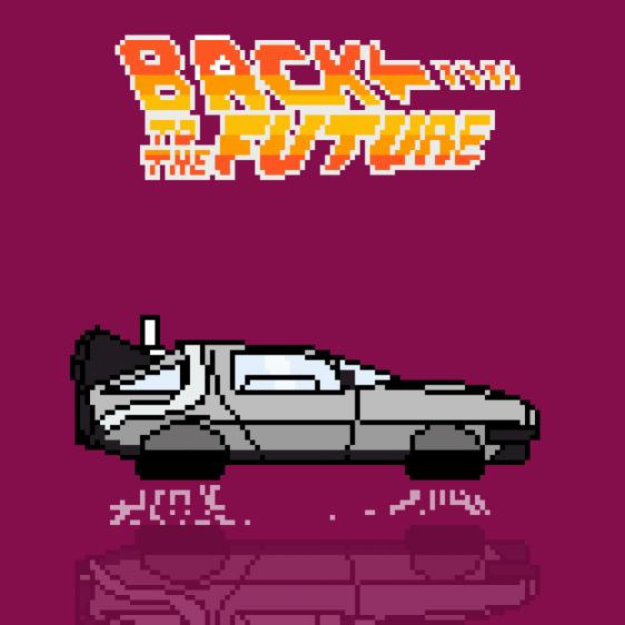 Back To The Future car - Delorean