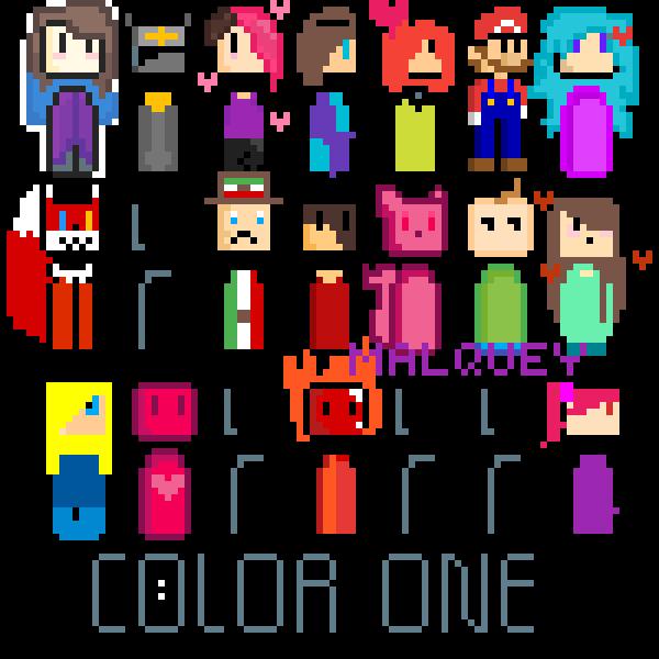 Color a person