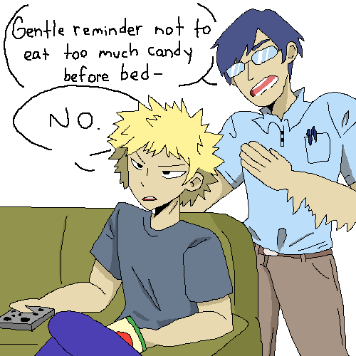 Iida and Bakugou
