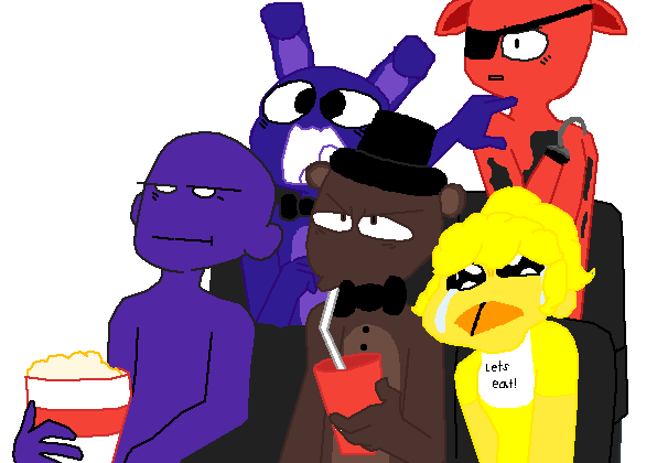 fnaf at the movies