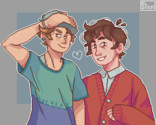 max & august! (ocs for a twitter friend)