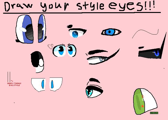 draw ur eye styles