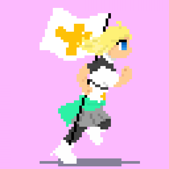 Sprite Running Animation (Sasha)