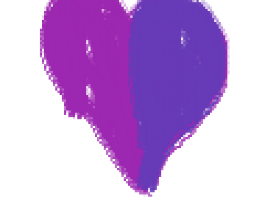 Different color hearts