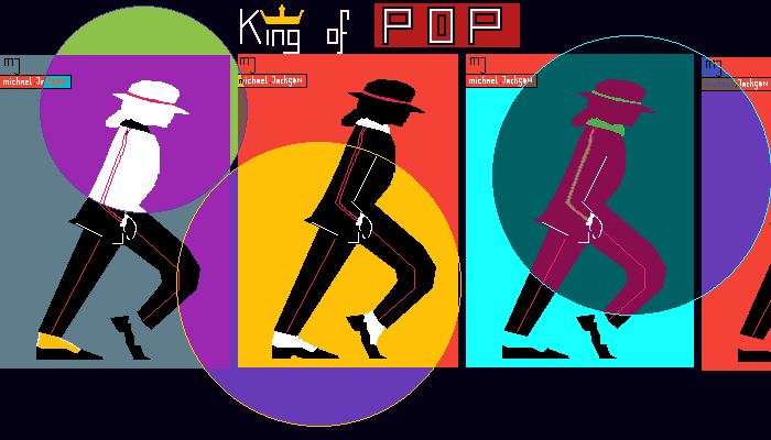 MICHAEL JACKSON(THE KING OF POP)