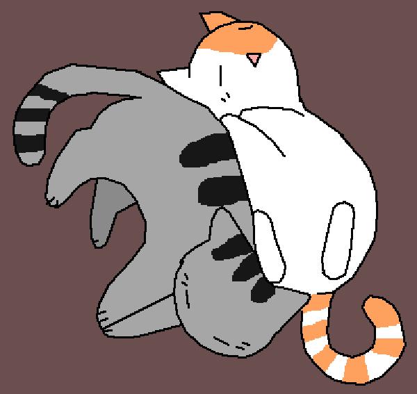 Pusheen and Teacup cat