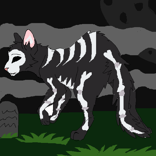 The Undead Creature Of The Graveyard