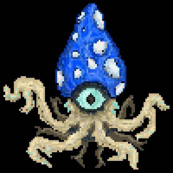Mushroom Squid