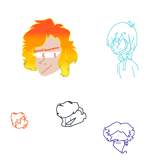 random doodle page