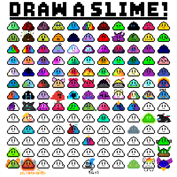 Draw you'r own slime!