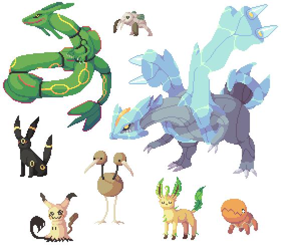 Pokemon (Sprites, kinda, not really)