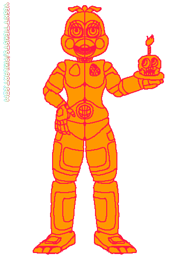 funtime chica base
