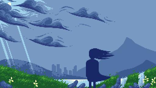 Windswept plains