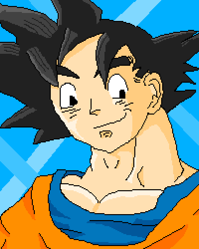 I know this is late but, GOKU HAIR!