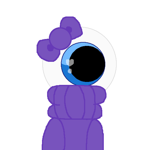 Blue in purple
