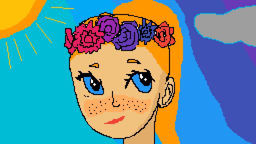 girl #1 by LiliannaDrawing