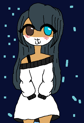 Milly with her hair down! And wearing something differe