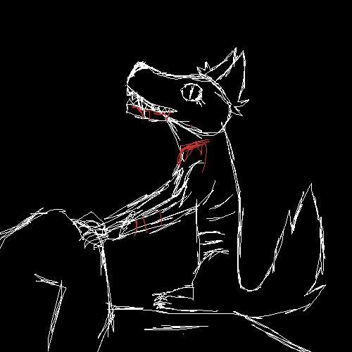 Wolf (Rough Sketch)