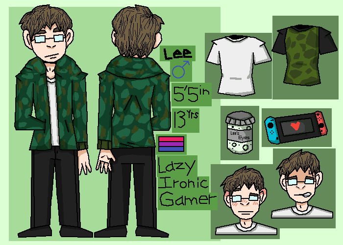 Lee (Persona/Me) Reference
