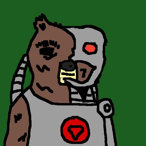 Cyborg Bear