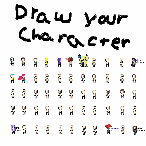 Draw Your Character Collab! :P