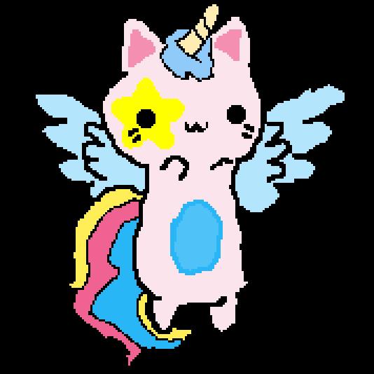 Angel Unicorn Cat
