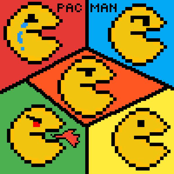 5 emotion pacman!°!!