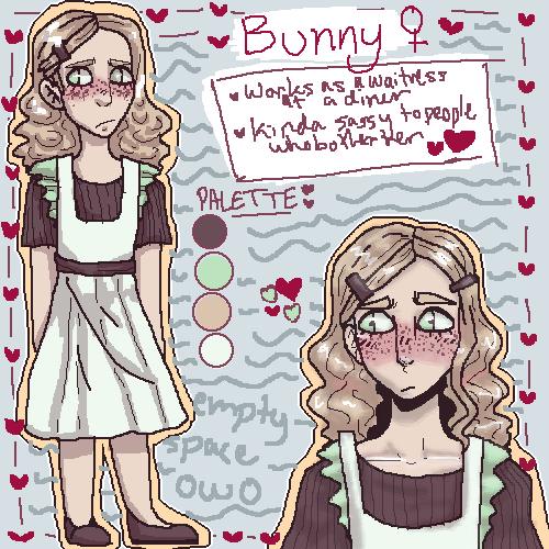 bunny (art trade/character trade/design trade)