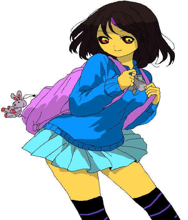Frisk is goin' to skool