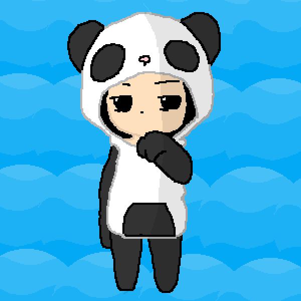 Me as a panda :3