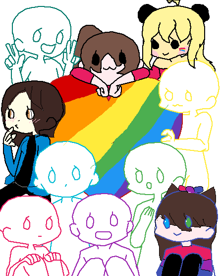 group drawing