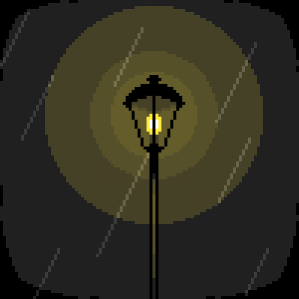 ☂ some kind of street light or something