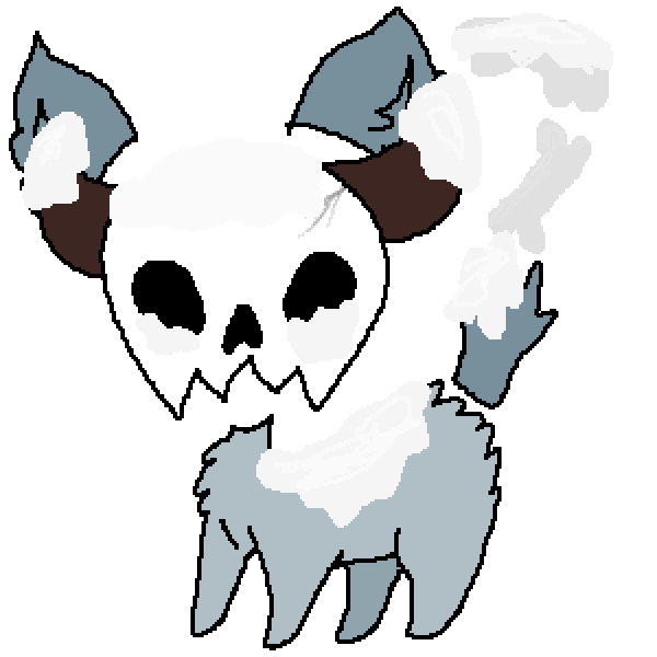 snow skull bab