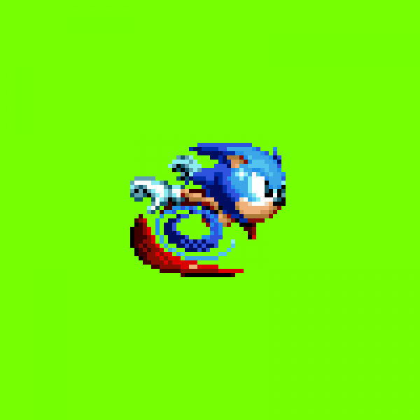 Pixilart - super sonic in sonic 1 by AaRon-The-Hedge