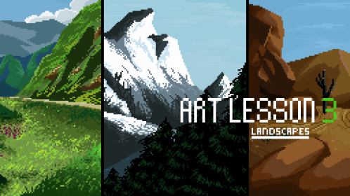 Art Lesson 3:Landscapes and Basic Environment Additions