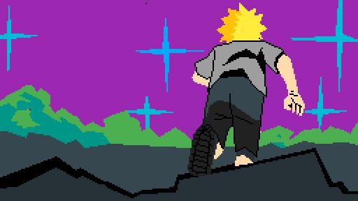 Naruto Opening Silhouette