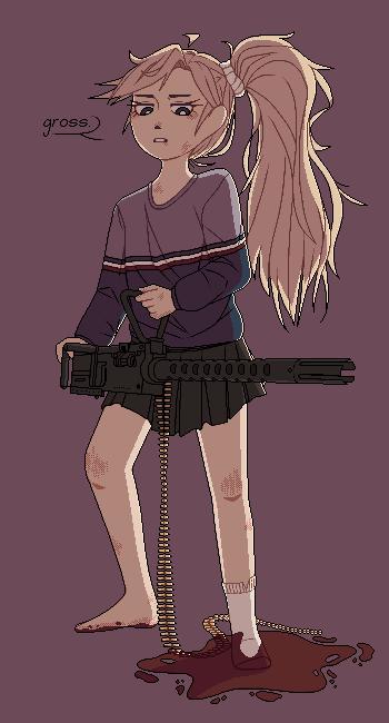 Hand-Held Machine Gun