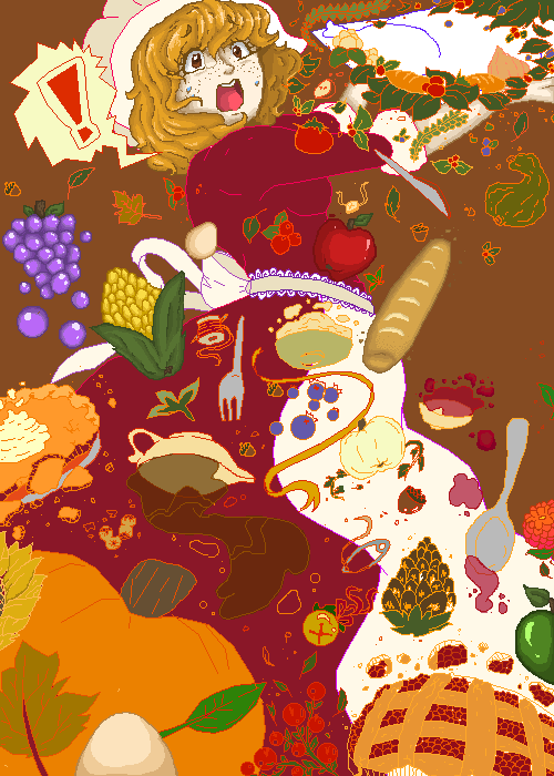 A Thanksgiving mess (WIP)