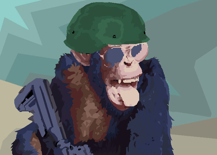 Maginot Infantry of the Republic of Simians.