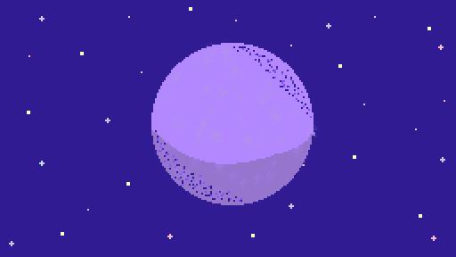 Planet Background (Desktop)