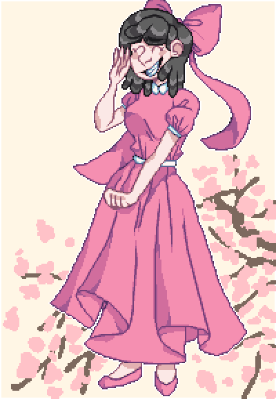 cherry blossom(request)